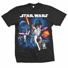 Star Wars - Space  Montage  T-Shirt     Größe  S, M, L, XL, XXL