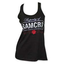 Sons Of Anarchy Property Of SAMCRO Women's Tank Top Black
