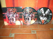 KISS - HOTTER THAN HELL IN PARIS LP ULTRARARE PICTURE DISC COLLECTOR !!!