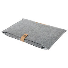 "For Apple Mac MacBook Air Pro 11"" 13.3"" Wool Felt Sleeve Laptop Case Cover Bag"