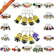 1pcs Despicable Me 2D Minions Keychains Key Ring For Bags For Wallet Bag,as Gift