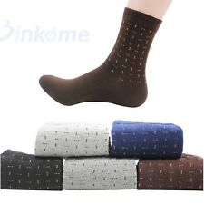 Mens Dress Socks Cotton Casual Business Socks 1 Pair One Size