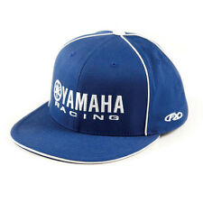 Factory Effex Yamaha Racing Blue Flex-Fit Hat Cap Adult Licensed YZ YZF R1 NEW