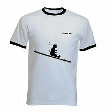 BANKSY GIRL BLOWING BUBBLES T-SHIRT - Bubble - Size Small  to XXL