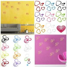 2 styles 3D DIY Art Wall Sticker Home Decor Removable Decoration Multi-Color new