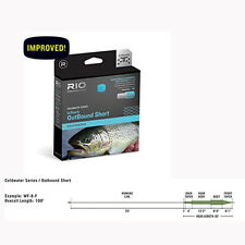 Rio InTouch Coldwater Outbound Short Fly Line, Floating, Free Ship & Backing!