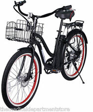 The Malibu Beach Cruiser By X-Treme Step Through Electric Bicycle With PAS