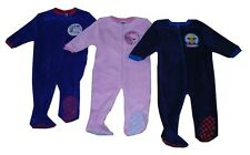 Boys & Girls Sleepsuit Pyjamas Onesie Peppa Pig George Pig & Fireman Sam  Fleece