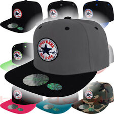 Converse Cap Chuck Taylor All Star Logo Snap Back Hat Classic Patch Skate Board