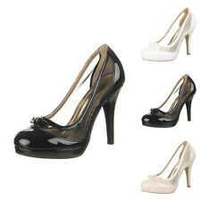 LUXUS NEU DESIGNER DAMENSCHUHE PUMPS z78u MODISCHE HIGH HEELS 0€