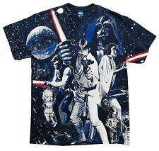 "Star Wars ""War of Wars"" Double Sided All-Over Print Men's Blue T-Shirt"