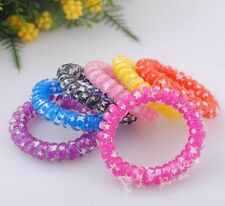 Fashion jewelry telephone line elastic hair band hair accessory Lots mix BE36