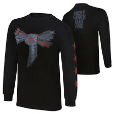 WWE CM PUNK BEST SINCE DAY ONE LONG SLEEVE T-SHIRT OFFICIAL NEW