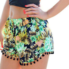 Summer Sexy Hot Pants Women Casual Shorts Beach High Waist Short Print Short