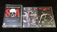 SONS OF ANARCHY COMPLETE SERIES SEASON 1 2 3 4 5 6 7 BOXSET 30 DISCS DVD R4