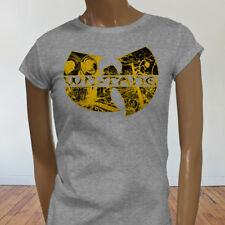 Rap Hip Hop Gza Rza ODB WU TANG CLAN COMICS Womens Gray T-Shirt