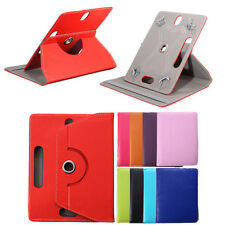 """360° Rotating Flip PU Leather Stand Case Cover For Android Universal Tablet 8"""""""