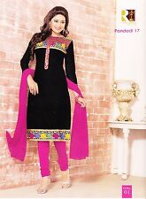 Ready To Wear Salwar Kameez In Your Size- Cotton Embroidered Indian-Pandri-17-01