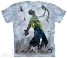 ZOMBIE SCRAPS ADULT T-SHIRT THE MOUNTAIN