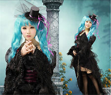 Vocaloid Hatsune Miku Anime Cosplay Costume Lace Dress Customized Any Size