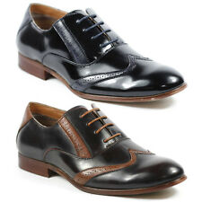 Ferro Aldo Mens Lace Up Wing Tip Dress Classic Oxford Shoes MFA-19270A