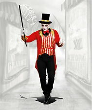 Freak Show Lion Tamer Circus Ringmaster Suit Clowns & Circus Costume Adult Men