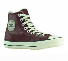 NEW CONVERSE Shoes Trainers Chucks Women's Leather boots 144990C. burgundy
