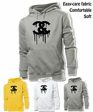 Unisex Men Women Cocaine And Caviar Crooks And Castles Black Symbol Hoodie Tops