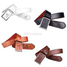 Hot Luxury Men Waistband Leather Automatic Buckle Waist Strap Leather Belts B40