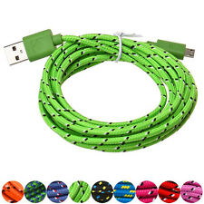 Universal USB Cable 3M/10FT Micro USB Charger Sync Data Cable Cord For Samsung