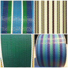 "Lawn Chair Webbing Outdoor Strapping Replacement 2 1/4"" x 100 feet  CHOOSE COLOR"