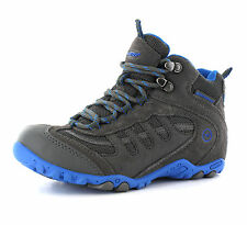 Hi-Tec Penrith Mid Waterproof Walking Trail Hiking Boys Boots Size 10-6 UK