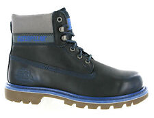 New Mens CAT Caterpillar Colorado Leather Ankle Piccolo Blue Boots Size 6-15 UK