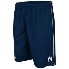 New York Yankees Navy Majestic Men's Mesh Shorts