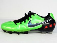 Nike Total90 Laser III FG Soccer Cleats Green Black & Red 385423 306 Mens NWT