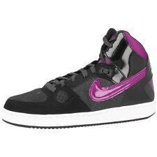 NIKE SON OF FORCE MID WOMEN'S SHOES RETRO HIGH TOP TRAINERS ANTHRACITE