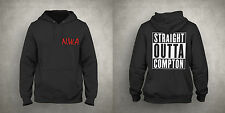 Unisex N.W.A STRAIGHT OUTTA COMPTON HOODIE Pullover Hood Dr Dre Ice Cube Eazy-E