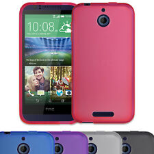 SLIM FITTED HYDRO RUBBER GEL CASE COVER SKIN FOR HTC DESIRE 510 MOBILE PHONE
