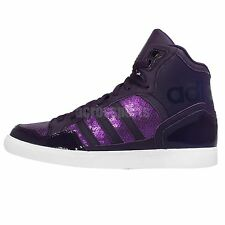 Adidas Originals Extaball W Purple White Womens Wedges Casual Shoes S77397