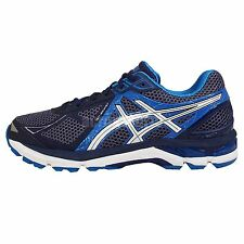 Asics GT-2000 3 2E Wide Navy Blue Mens Running Shoes Trainers T501N-4901