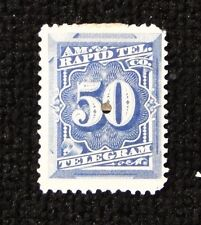 # 1T8 AMERICAN RAPID TELEGRAPH  1 stamp cancelled  free shipping