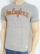 American Eagle Outfitters AM NY Mens Heather Gray T-Shirt AEO New NWT