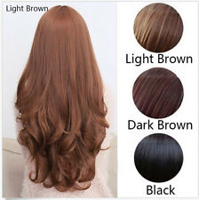 Hot Women Fashion Sexy Long Wavy Curly Hair Cosplay Costume Party Full Wig/Wigs