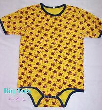 Adult Baby Spiderman knit Bodysuit  *Big Tots by MsL*