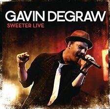 Sweeter Live - Gavin Degraw Compact Disc