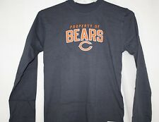NEW Kids NFL REEBOK Property Of Chicago BEARS Blue Classic Long Sleeve Shirt NFL
