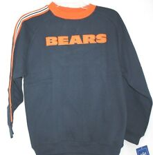 NEW Kids Youth NFL REEBOK Chicago BEARS Blue Long Sleeve Stripes Sweatshirt NFL