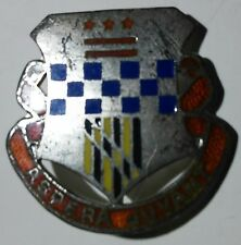 WW2 379th Infantry Regiment Sterling Unit Crest D.I. - Dondero - PB