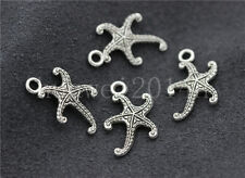 Lot 15/60/300pcs Tibetan Silver Lovely starfish Jewelry Charms Pendant 19x13mm