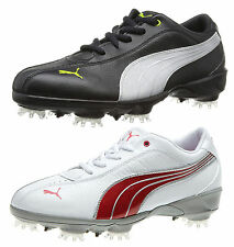 New Womens Puma PG Tallula Performance Waterproof Leather Golf Spikes Shoes